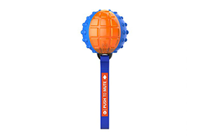 GIGWI REGULAR BALL PTM TRANS BLUE/ORG