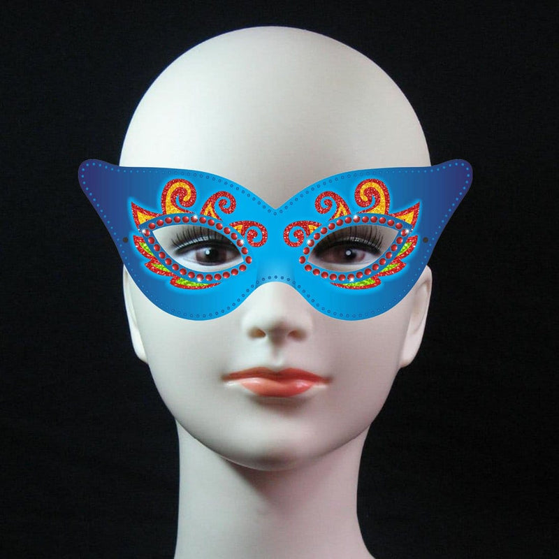 Party Masks - Blue - Party Pirates