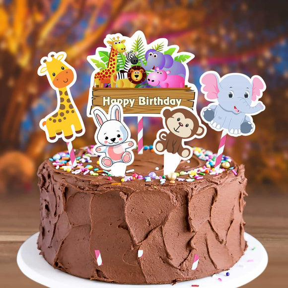 Cake Decora - Jungle - Party Pirates