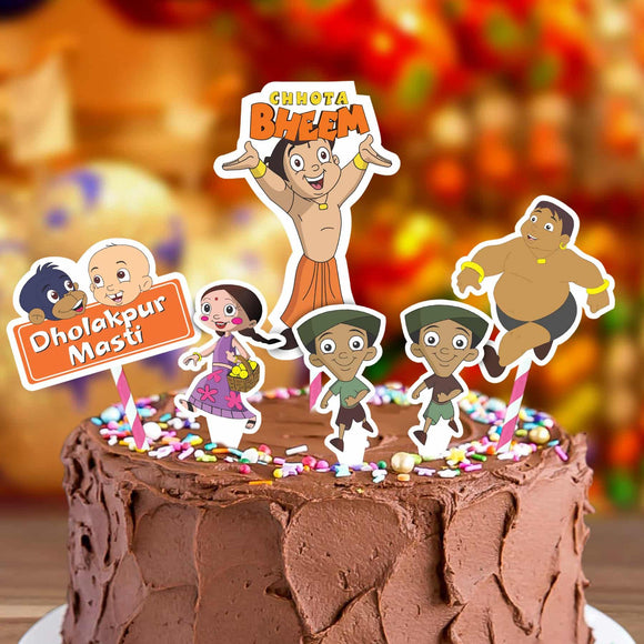 Cake Decora - Bheem - Party Pirates