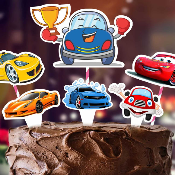 Cake Decora - Cars - Party Pirates