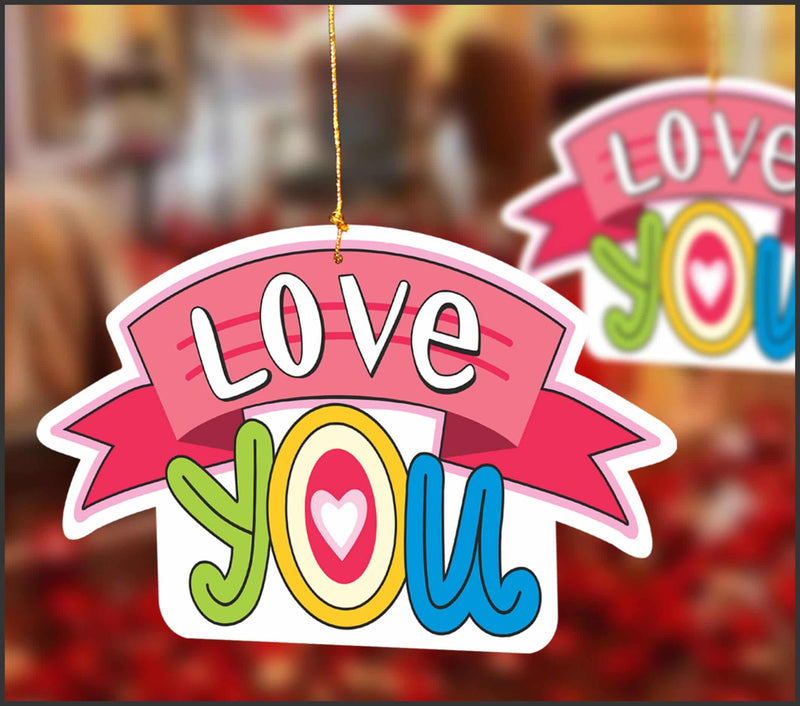 Wall Hanging - Love You - Party Pirates