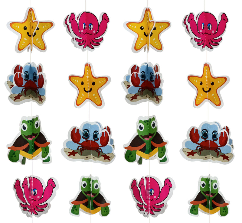 Wall Hanging - Mini Cute Aquatic Frill - Party Pirates