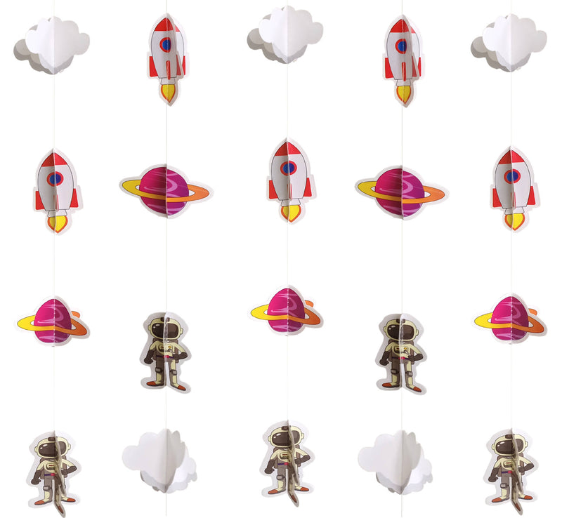 Wall Hanging - Mini Space Ornaments Frill - Party Pirates