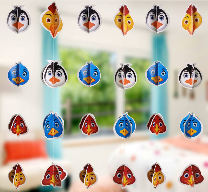 Wall Hanging - Mini Cute Birds Frill - Party Pirates