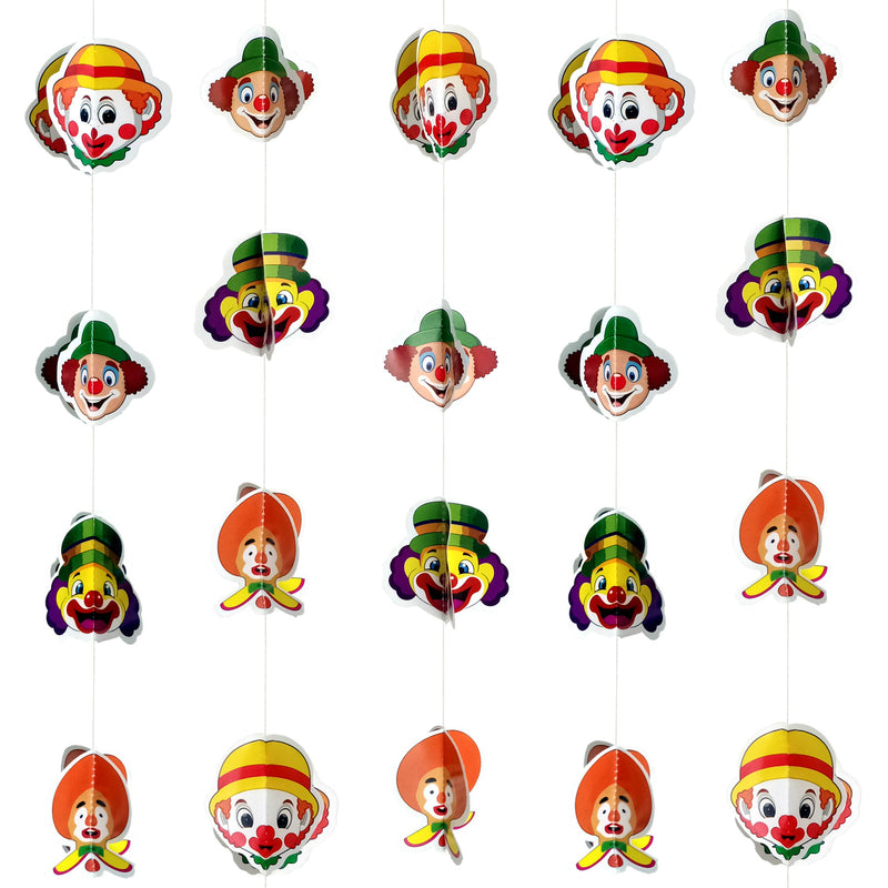 Wall Hanging - Mini Joker Face Frill - Party Pirates
