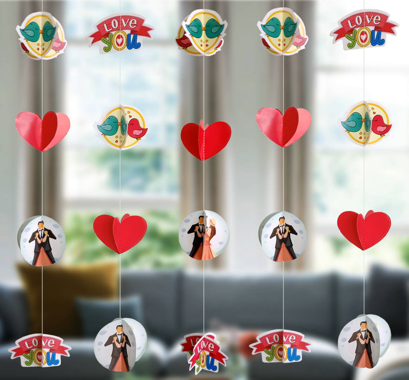 Wall Hanging - Mini Love Ornaments Frill - Party Pirates