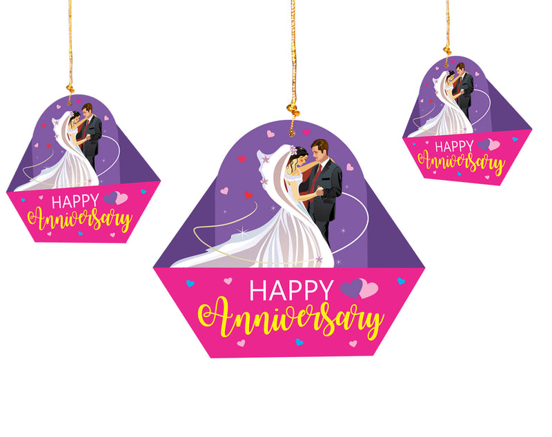 Wall Hanging - Anniversary Couple Hanging - Party Pirates