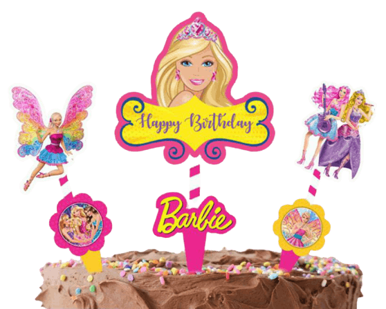 Cake Decora - Barbie - Party Pirates