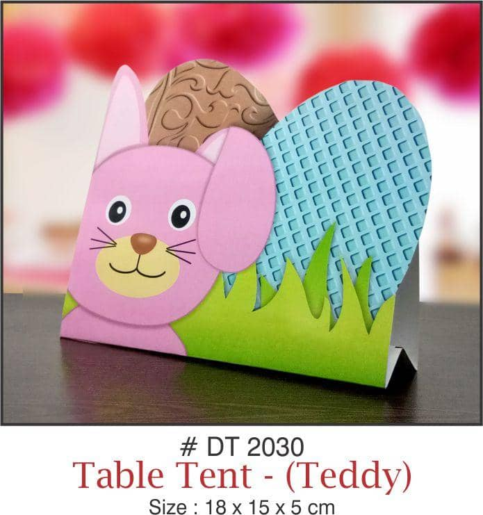 Table Decoration - Tent (Teddy) - Party Pirates