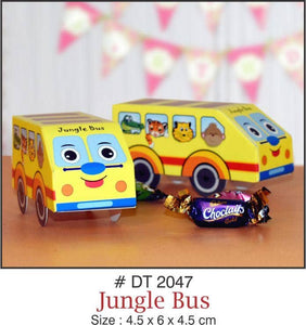 Table Decoration - Chocolate/Candy/Gift Boxes (JungIe Bus) - Party Pirates