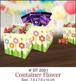 Table Decoration - Chocolate/Candy Boxes (Flower) - Party Pirates
