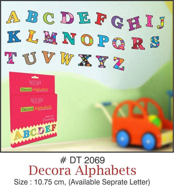 Wall Decoration - Decora Alphabets - Party Pirates