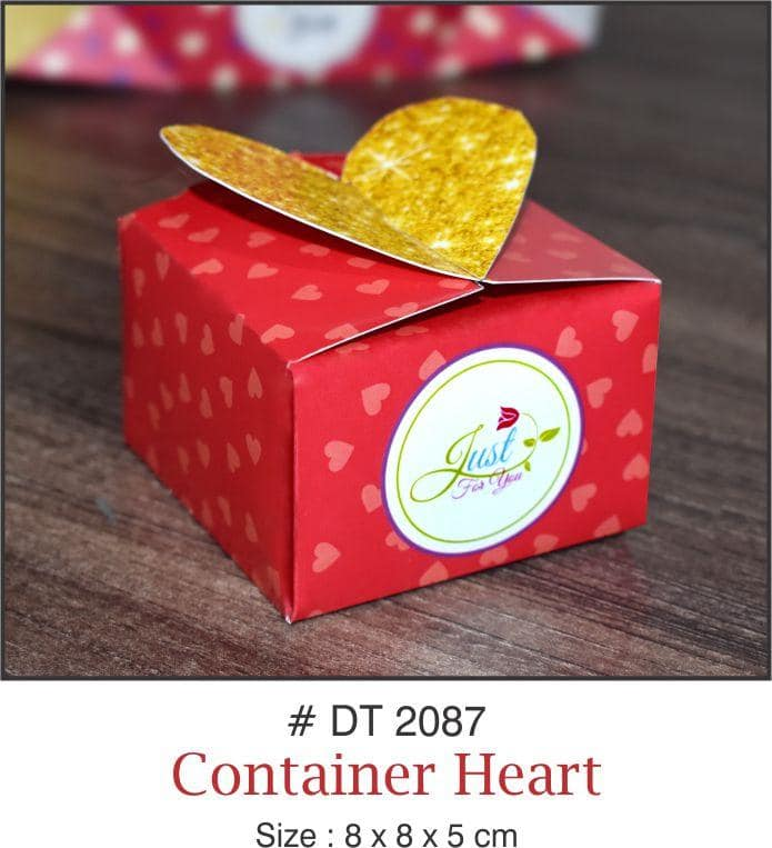 Table Decoration - Chocolate/Candy/Gift Boxes (Heart) - Party Pirates