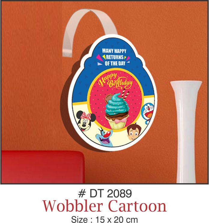 Wall Decoration - Wobblers (Cartoon) - Party Pirates