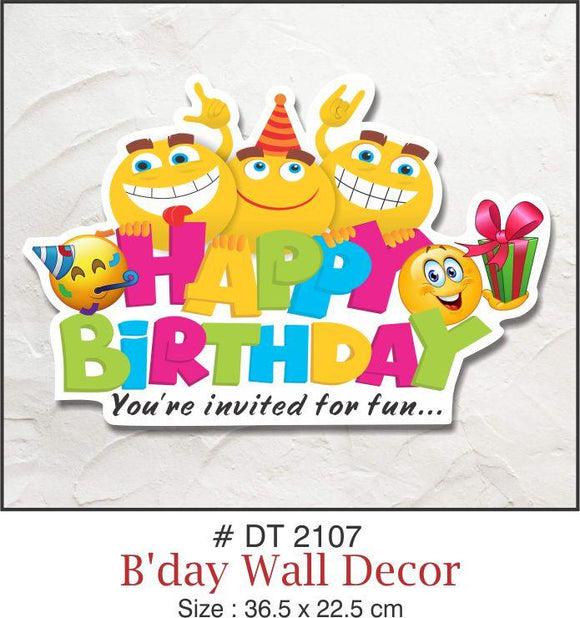 Wall Decoration - Birthday - Party Pirates