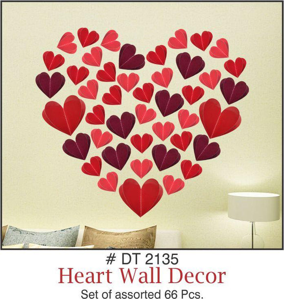 Wall Decoration - Hearts - Party Pirates