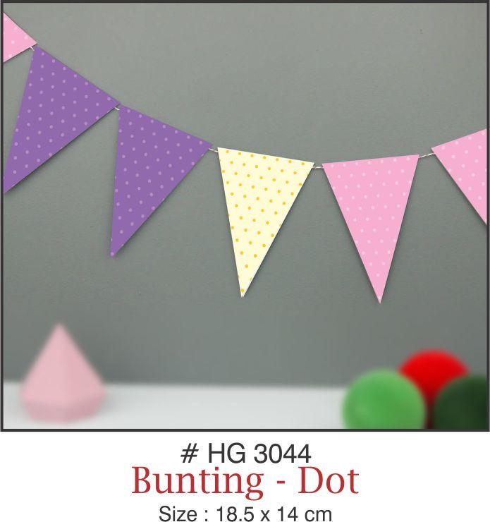 Buntings - Dots - Party Pirates