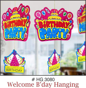 Wall Hanging - Birthday Party - Party Pirates