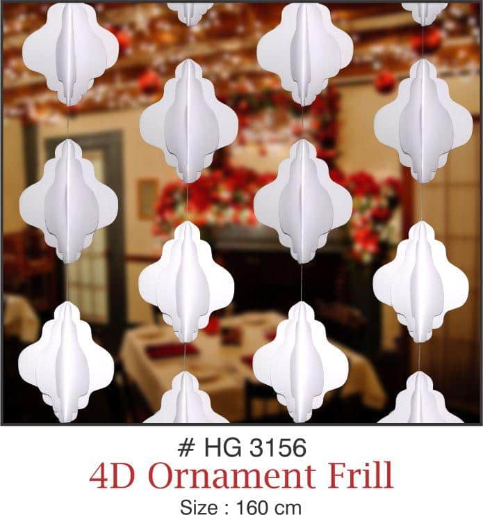 Wall Hangings - 4D Ornament Frill - Party Pirates