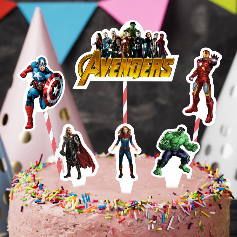 Cake Decora - Avengers - Party Pirates