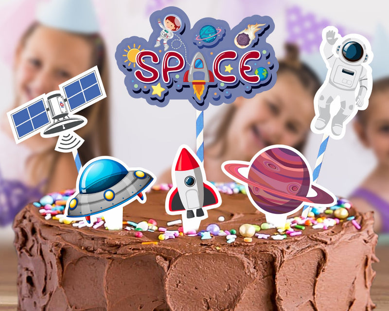 Cake Decora - Space - Party Pirates