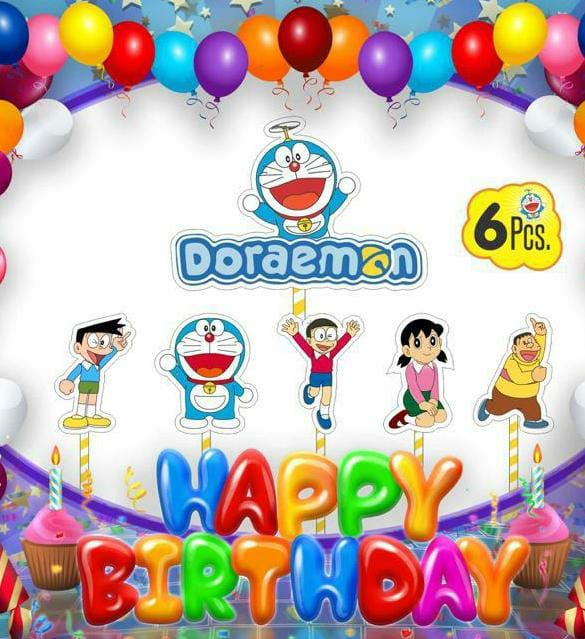 Cake Decora - Doraemon - Party Pirates