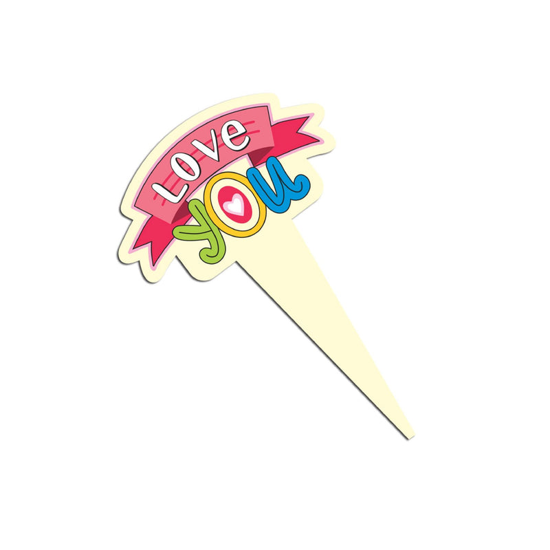 Cake Toppers - Love You (Option 1) - Party Pirates