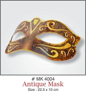 Party Masks - Antique - Party Pirates