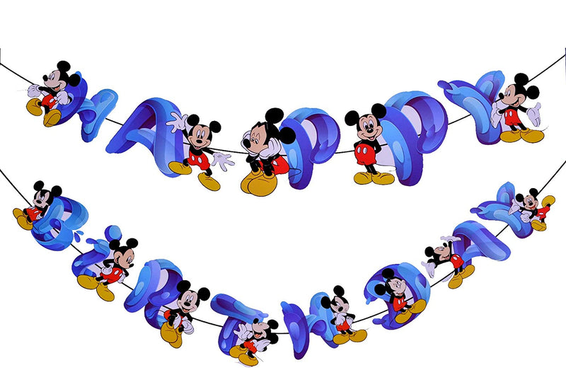 Wall Banner- Micky Mouse (Birthday)