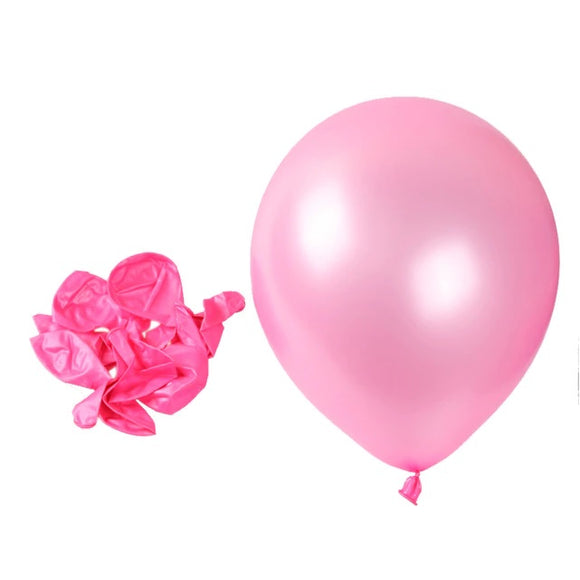Latex Balloons - Pearl Pink (Pack of 25) - Party Pirates