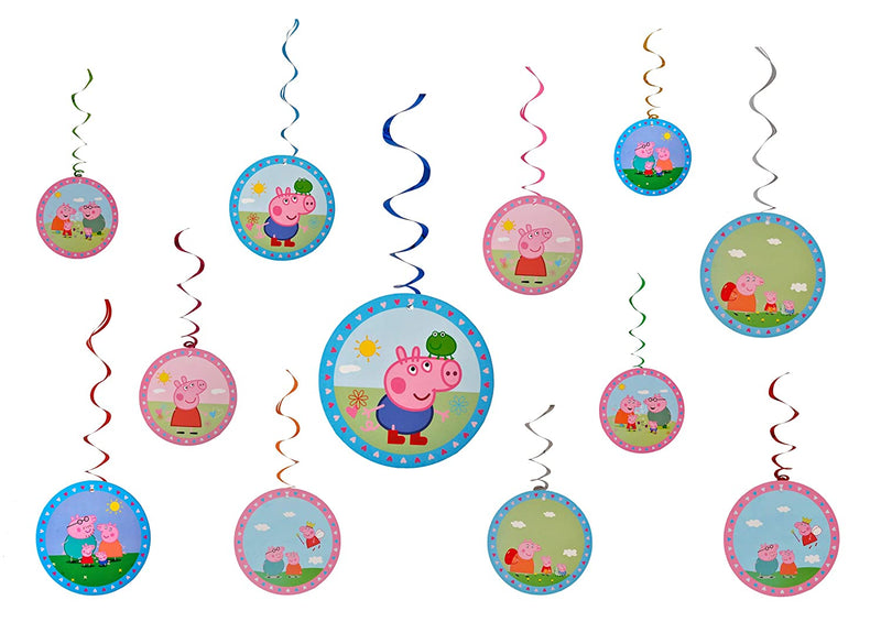 Peppa Pig Swirls or Hangings - Party Pirates