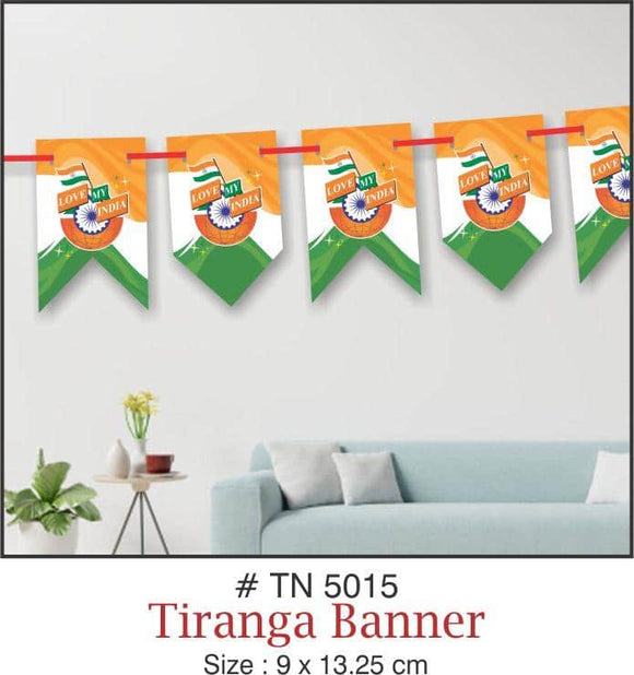 Wall Decoration - Tricolor Banner - Party Pirates
