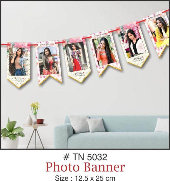 Wall Decoration - Photo Banner - Party Pirates