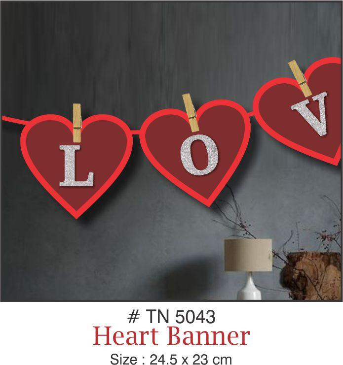 Wall Decoration - Love Banner - Party Pirates