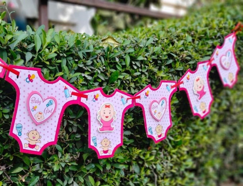 Wall Decoration - Baby Girl Banner