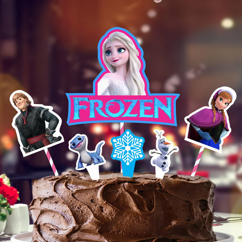 Cake Decora -Frozen 2
