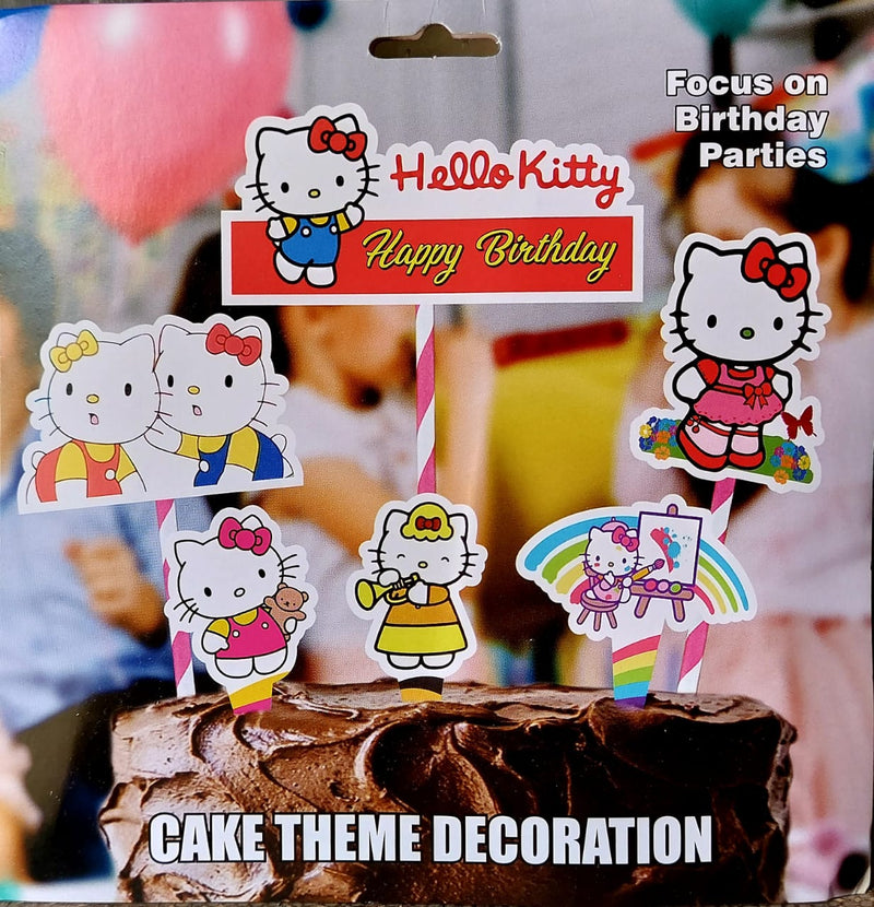 Cake Decora - Hello Kitty