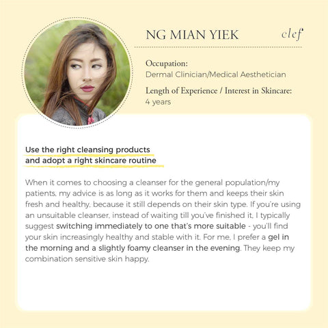 clef-interview-derma-clinician-aesthetician-cleanser-review-interview-cleansing-hydration