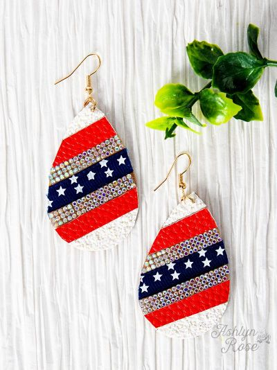 American Sparkle Earrings
