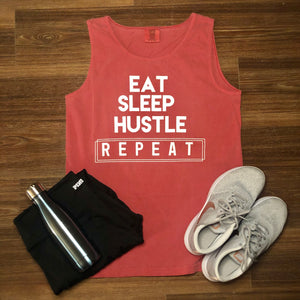 Eat Sleep Hustle Repeat Tank