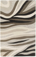"8' x 10'6"" Wool Natural Area Rug"