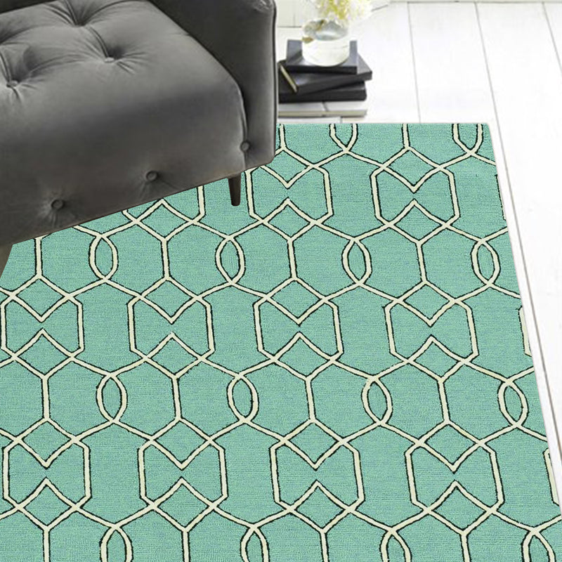 3' x 5' UV-treated Polypropylene Spa Area Rug