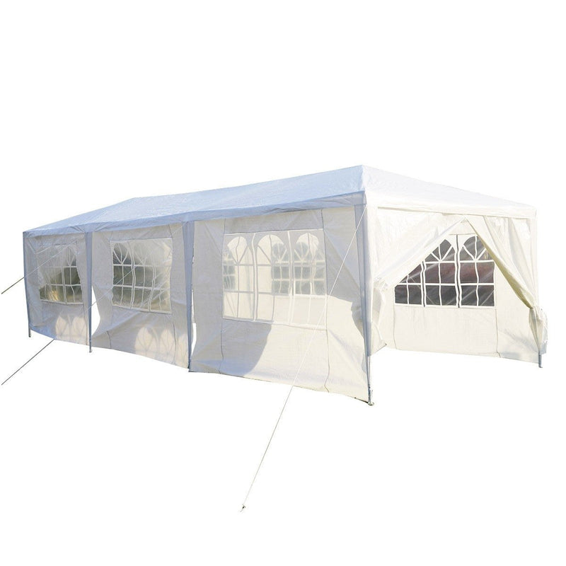 10 x 30 Ft Outdoor Portable Gazebo with Removable Sidewalls