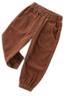 AIYU Boys Thick Trousers Autumn and Winter Ages 1 2 3 4 5 6-Devoraels.Ltd
