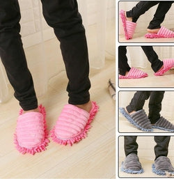 Shoe That Mops Up Dust and Dirt-Devoraels.Ltd