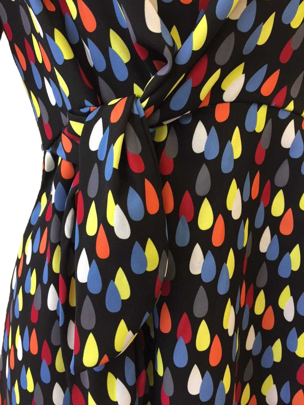 DROPLET PRINT DRESS