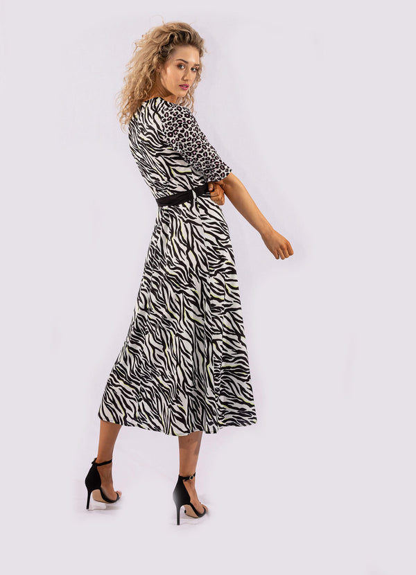 WILD THING V-NECK DRESS