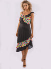 RETRO PARTY SPOT MIX DRESS