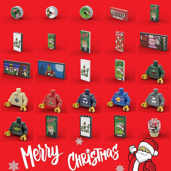 EclipseGrafx Custom LEGO Advent Calendar Bundle